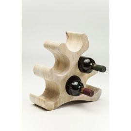 KARE Design :: Stojak na wino Puzzle Flame 6