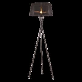 Lampa stojąca OSLO  ⌀ 45 cm czarna